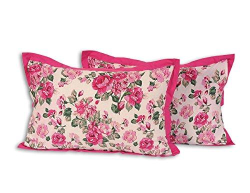 Amazon Com Luxurious Cotton Floral Pillowcases Set Of 2