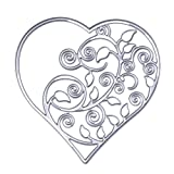 JD Million shop Hollow Out Heart Metal Cutting Dies Stencils DIY Scrapbooking Card Photo Album Painting Embossing Template Decor Craft