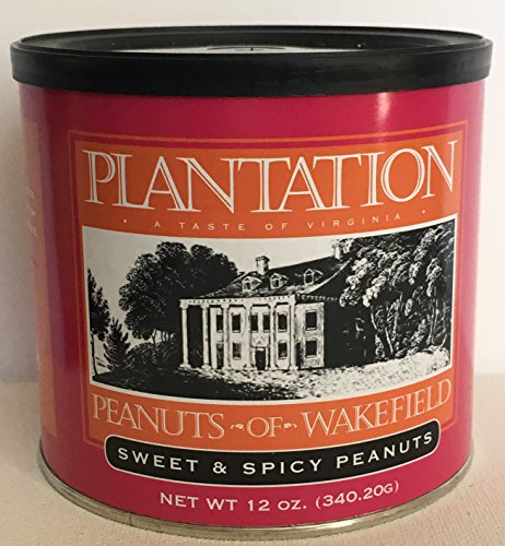 Fancy Sweet (Sweet & Spicy Peanuts - 12 ounce tin)