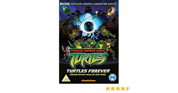Teenage Ninja Mutant Turtles Turtles Forever Reino Unido DVD ...