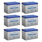 12V 12AH Battery Replacement for DieHard Portable Power 750-6 Pack