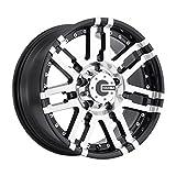 Mamba M2X Gloss Black Wheel with Machined Finish (18x9