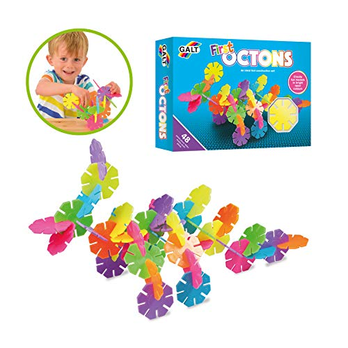 Galt Toys,  First Octons, Construction Toy