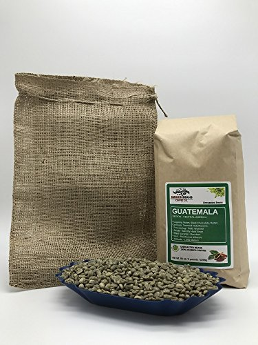 5 LBS – GUATEMALA (includes a FREE BURLAP BAG) Specialty-Grade, CURRENT-CROP Green Unroasted Coffee Beans – Finca Nueva Granada – This Farm Implements Impressive Sustainable Farming Practices