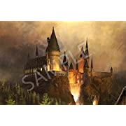Best Print Store - Harry Potter Hogwarts Castle Poster (24x36 inches)