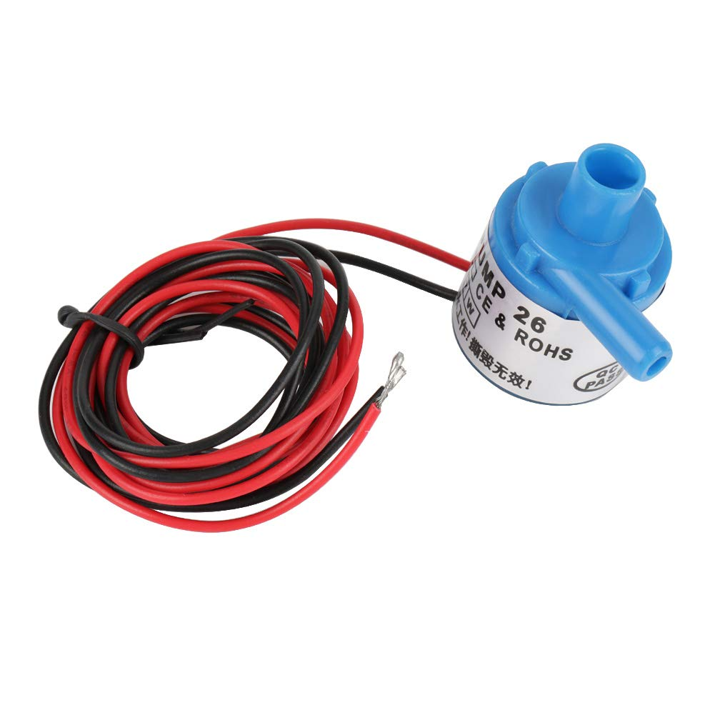 Akozon Water Pump, Mini Food Grade Brushless Submersible Water Pump 6V DC 3W for Aquarium Fountain Medical Instruments