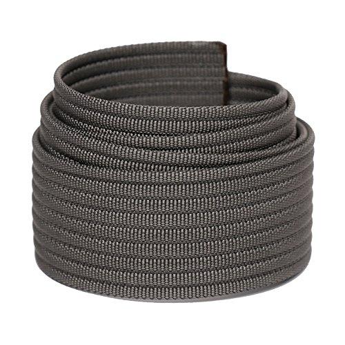 Grip6 Men's Nylon Belt Strap Grey 34