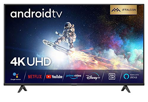 iFFALCON 55K610 led-tv, 55 inch (139 cm), Smart TV (4K Ultra HD, MEMC, Dolby Vision, Android TV, inclusief…