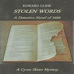 Stolen Words: A Detective Novel of 1929