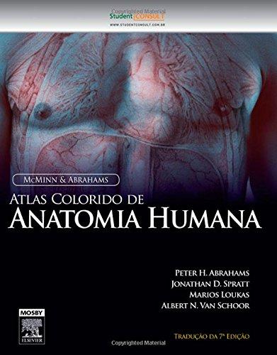 Atlas Colorido de Anatomia Humana. McMinn e Abrahams