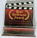 Best Good Gift Girlfriend Awards - Meditative Yoga Best Girlfriend Award Trophy for Girlfriend Review