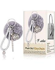 Pom Pom Keyring, Fluffy Keyring, Balls Keyring Balls Cellphone Charm Bag Pendant Keychain, Cute Keyring Handbag Bag Decoration Ornament Gift