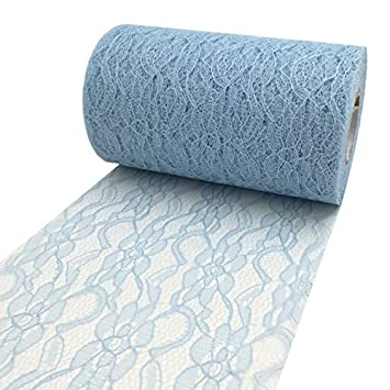 PsmGoods® Vintage Lace Roll Table Runner Table Centerpieces Chair Sash Lace  Bow Tutu Material For