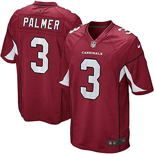 NIKE Carson Palmer Arizona Cardinals NFL Youth Red Home On-Field Jersey (Youth Small 8)