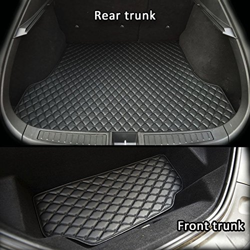 topfit-custodia 2016 Refresh version Model S anteriore e posteriore tronco mat-black, 2 pezzi di set