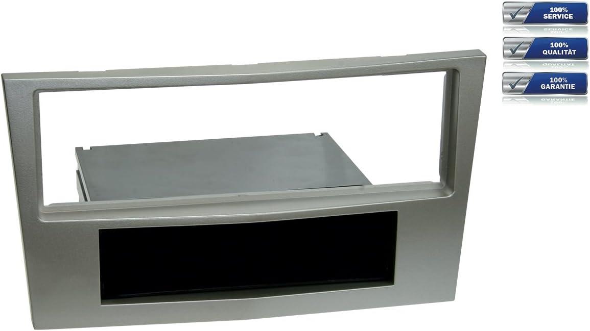 Mascherina autoradio 1/DIN per OPEL ASTRA H//corsa D//Zafira B Satin Stone *