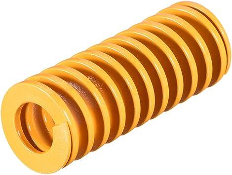 Sourcingmap Light Load Spiral Stamping Compression Die Spring 20mm x 35mm Blue