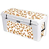 MightySkins Protective Vinyl Skin Decal for YETI Tundra 160 qt Cooler wrap Cover Sticker Skins Body by Pizza
