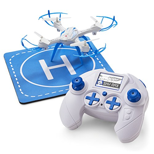 Quadcopter Drone for Kids and Beginners – Includes Helipad, RC Controller, 3 Speed Settings, Charger and Repair Kit
