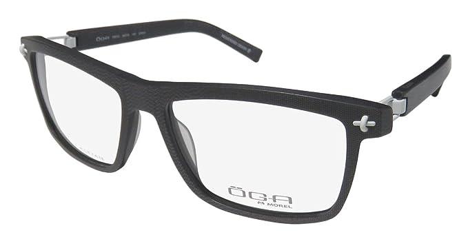 8f612716a691 Amazon.com: Oga By Morel 7951o For Men Designer Full-Rim Flexible Hinges  Genuine Popular Shape European Hot Eyeglasses/Eyeglass Frame (56-16-130, ...