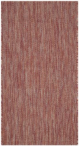Safavieh Courtyard Collection CY8520-36522 Red Indoor Outdoor Area Rug 2 x 3 7