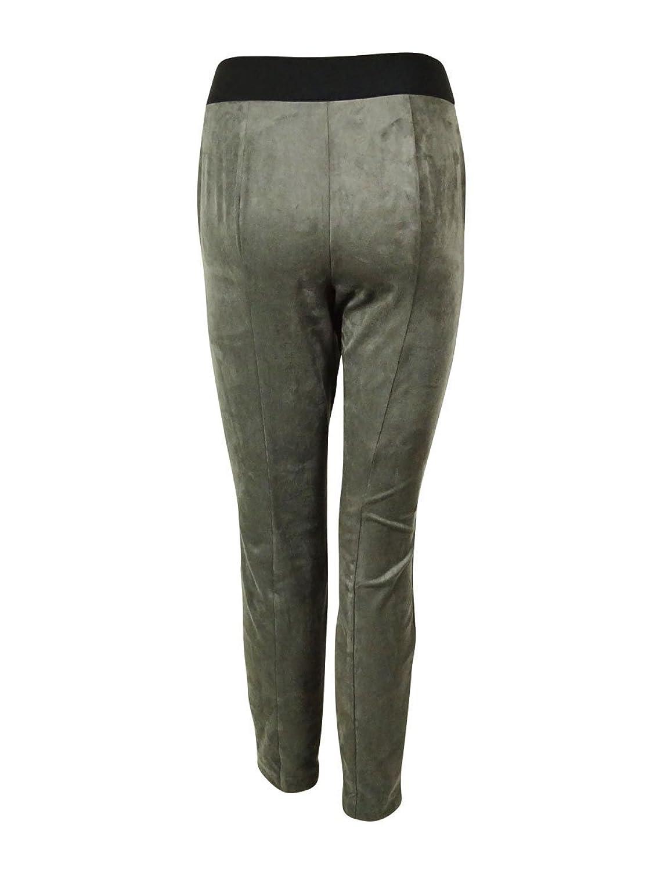 Alfani Women's Ultra Skinny Leg Faux Suede Pants