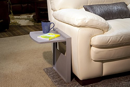 Tuc-Away Tables KTC2167-GRY Kensington Edition Table, Grey (Table Small Fold Down With Sides)