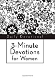 3-Minute Devotions for Women, Barbour Publishing, Inc. Staff, 1624166423