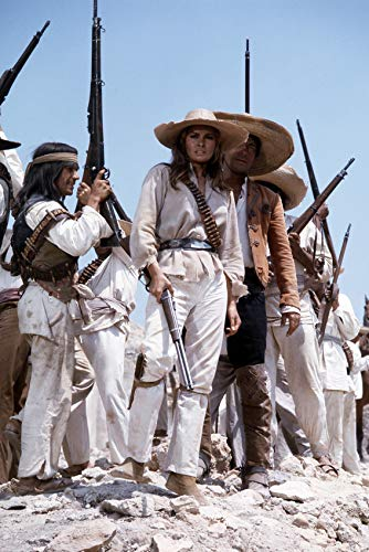 100 Rifles Featuring Raquel Welch 24x18 Poster