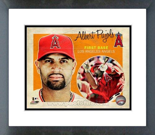 LA Angels Albert Pujols 2012 Studio Plus Framed Picture 8x10