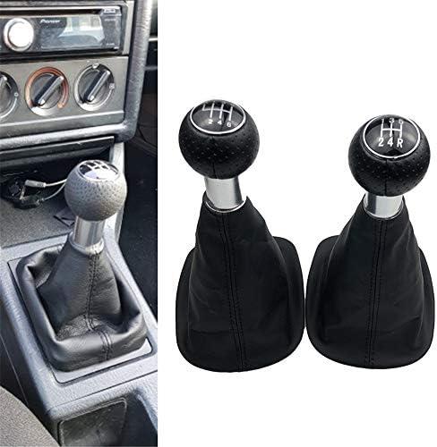 HZHAOWEI 5/6 Speed Car Styling Schaltknauf Gamaschenmanschette Abdeckung, für VW Passat B5 B5.5 1998-2004 B5 FL (00-05) 3B B5 3B2 3B5 1996-2000