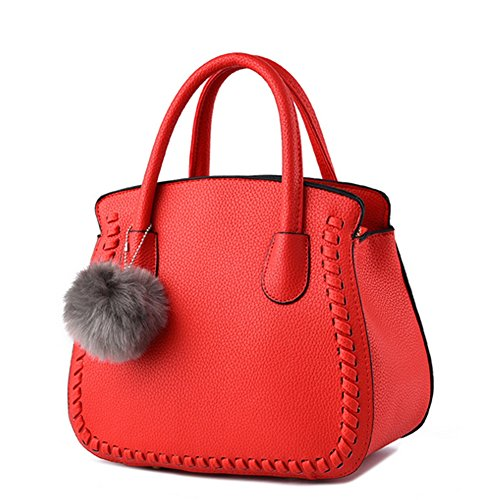 A Main Women Femme Simple Pour Mode 2018 D'épaule À averil Rouge Sacs g Sac q7TWItAq