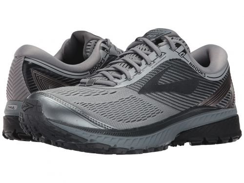 Brooks(ブルックス) メンズ 男性用 シューズ 靴 スニーカー 運動靴 Ghost 10 - Primer Grey/Metallic Charcoal/Ebony [並行輸入品] B07C8GF5J4
