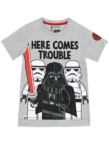 - LEGO Star Wars Boys' Star Wars Darth Vader T-Shirt Size 5