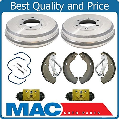 Chevy Drum Brake (Mac Auto Parts 144581 Rear Brake Drum Drums Shoes Spring Wheel Cylinder Chevy Colorado Canyon)