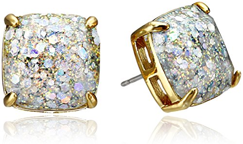 kate spade new york Small Square Opal Stud Earrings by Kate Spade New York