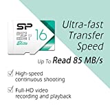 Silicon Power 16GB Nintendo Switch Compatible MicroSDHC UHS-1 Memory Card Limited Edition- with Adapter (SP016GBSTHBU1V21SP)
