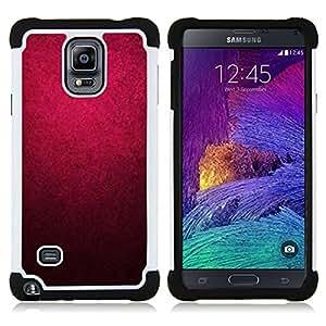 - purple watercolor black color wallpaper - - Doble capa caja de la armadura Defender FOR Samsung Galaxy Note 4 SM-N910 N910 RetroCandy