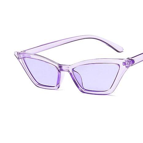 AOLVO Gafas de Sol Vintage Cateye, Gafas de Sol ...