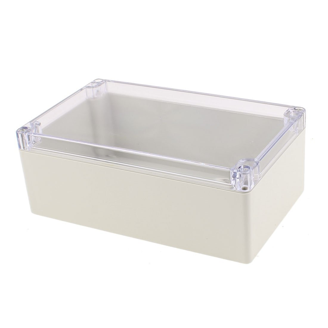 Amazon.com: eDealMax 200 x 120 x 75 mm cubierta transparente caja sellada a prueba de agua Junction Box Enclosure: Electronics