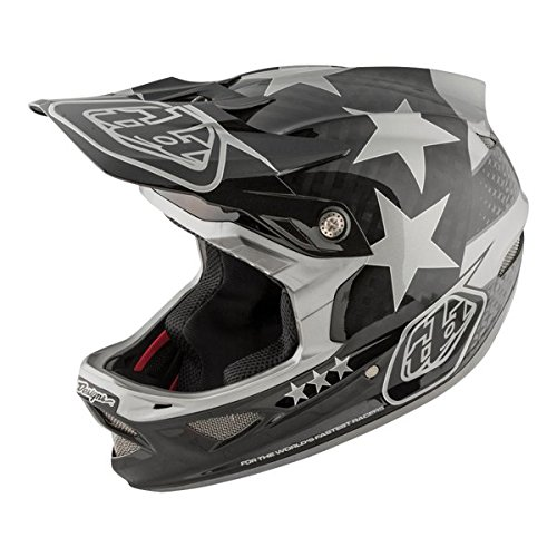 2018 Troy lee Designs D3 Freedom Carbon Bicycle Helmet - Blk/Gry - X Large by Troy Lee Designs