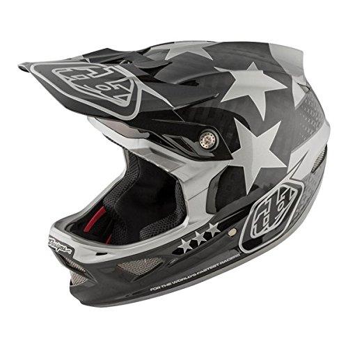 2018 Troy lee Designs D3 Freedom Carbon Bicycle Helmet - Blk/Gry - X Large