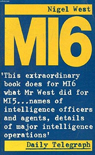 MI6: British Secret Intelligence Service Operations, 1909-45 (Panther Books)