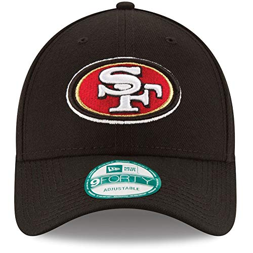 San Francisco 49ers 9Forty NFL The League Adjustable Hat Black
