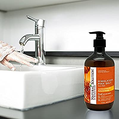 Natural Solution Hand Soap, Natural Honey with Himalayan Pink Salt,Nutrition & protection, by Dr.Barbara Hendel