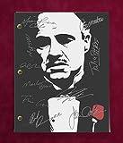 #3: GODFATHER SCRIPT WITH REPRODUCTION SIGNATURES Pacino Brando Caan