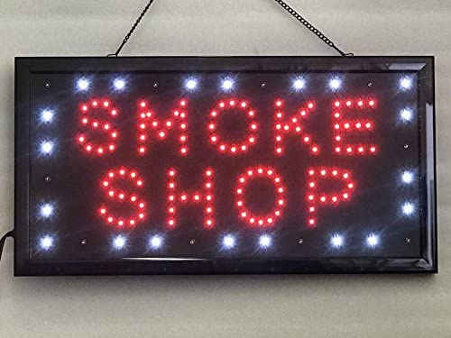 walls Two Modes Flashing /& Steady light shop bar window hotel UPSUN Neon Sign OPEN,LED business open sign advertisement board Electric Display Sign Smoke Shop for business