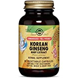 Solgar - SFP Korean Ginseng Root Extract Vegetable Capsules 60 Count, Also known as an immune support herb