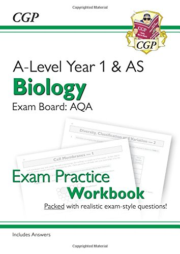 Download New A-Level Biology for 2018: AQA Year 1 & AS Exam Practice Workbook - includes Answers ebook