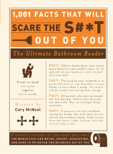 1,001 Facts that Will Scare the S#*t Out of You: The Ultimate Bathroom - Cary Center